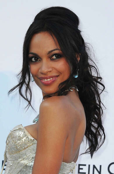 Rosario Dawson -- good, under-used actress, memorable in SEVEN POUNDS, RENT and 25TH HOUR.