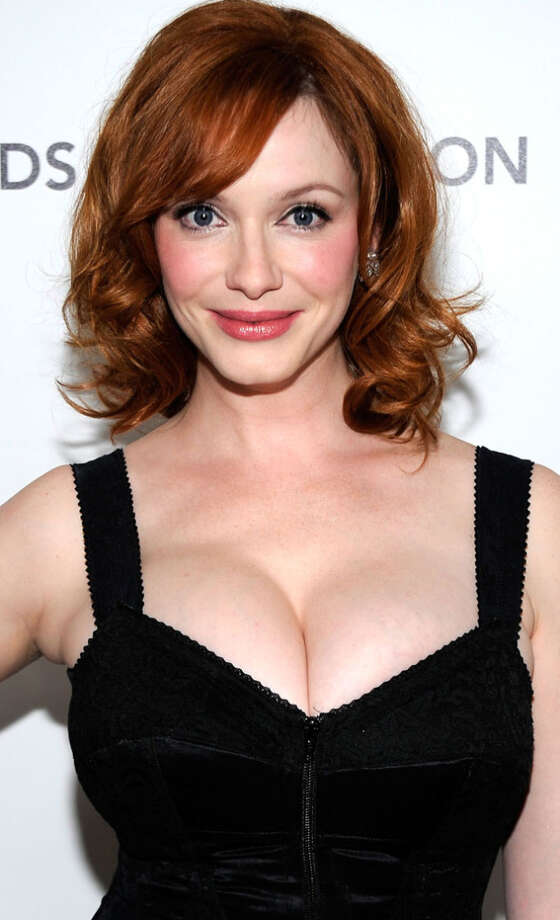 Christina Hendricks -- she is single handedly updating an 1890s aesthetics and making everybody think, Oh, NOW I get it. / 2010 Getty Images