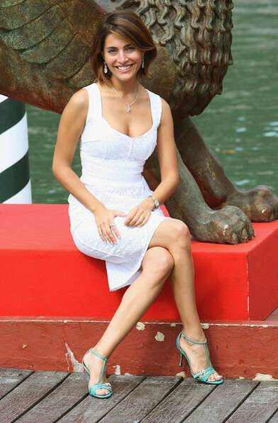 Caterina Murino -- still photos don't do justice to this Italian actress, who is one of the most stu