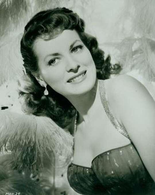 Maureen O'Hara -- Irish screen actress and frequent co-star to John Wayne.