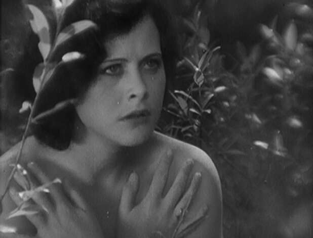 Hedy Lamarr -- seen here in ECSTASY.  The Austrian actress eventually went to Hollywood, where she became one of the most beautiful women in the world. Photo: Warner Bros. 1966