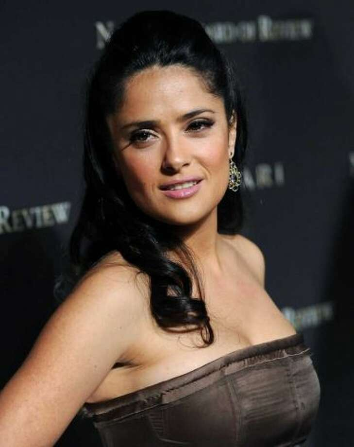 Salma Hayek -- popular star, suggested by bauhaus.