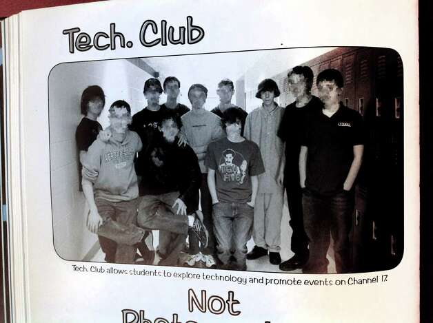 Adam Lanza, photographed in his sophomore yearbook as a member of the tech club in the 2008 Newtown High School yearbook. Photo: Maggie Gordon, Hearst Connecticut Newspapers/Ma / Stamford Advocate