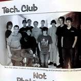 Adam Lanza, photographed in his sophomore yearbook as a member of the tech club in the 2008 Newtown High School yearbook.