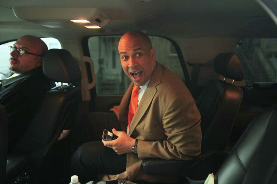 A Newark Mayor Cory Booker decides whether to challenge New Jersey Gov. Chris Christie, a growing number of the troubled city's residents complain that he has turned out to be a better marketer than mayor. Photo: OZIER MUHAMMAD, STF / NYTNS