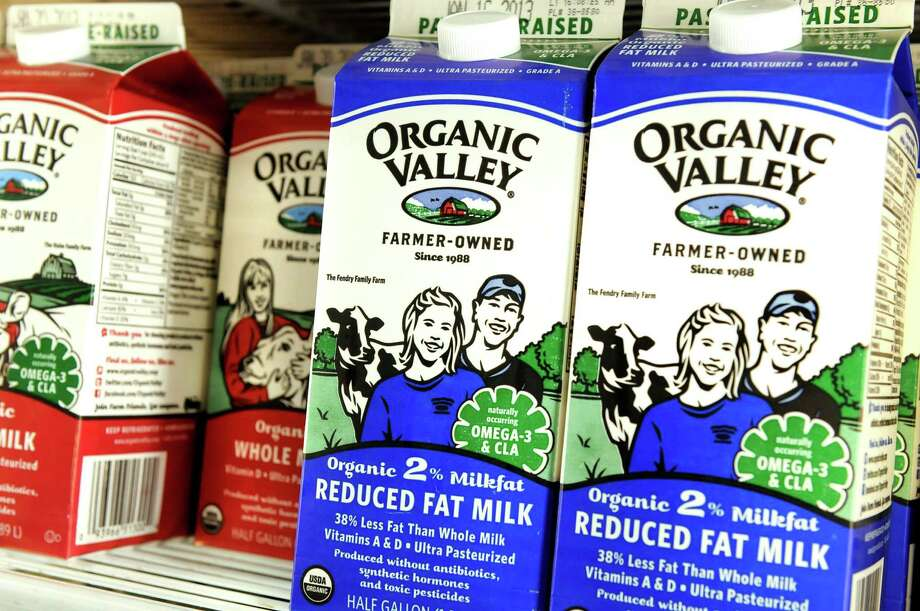 Organic milk for sale on Friday, Dec. 14, 2012, at Honest Weight Co-op in Albany, N.Y. (Cindy Schultz / Times Union) Photo: Cindy Schultz