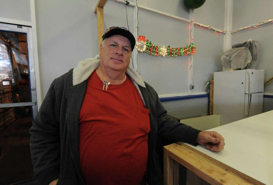Dennis VanAmburgh at the Swinburne Park ice rink concession stand in Albany, NY Saturday Dec. 15, 2012. (Michael P. Farrell/Times Union) Photo: Michael P. Farrell