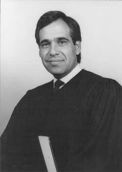 Judge Charlie Gonzalez in September 1987. Photo: San Antonio Light File Photo