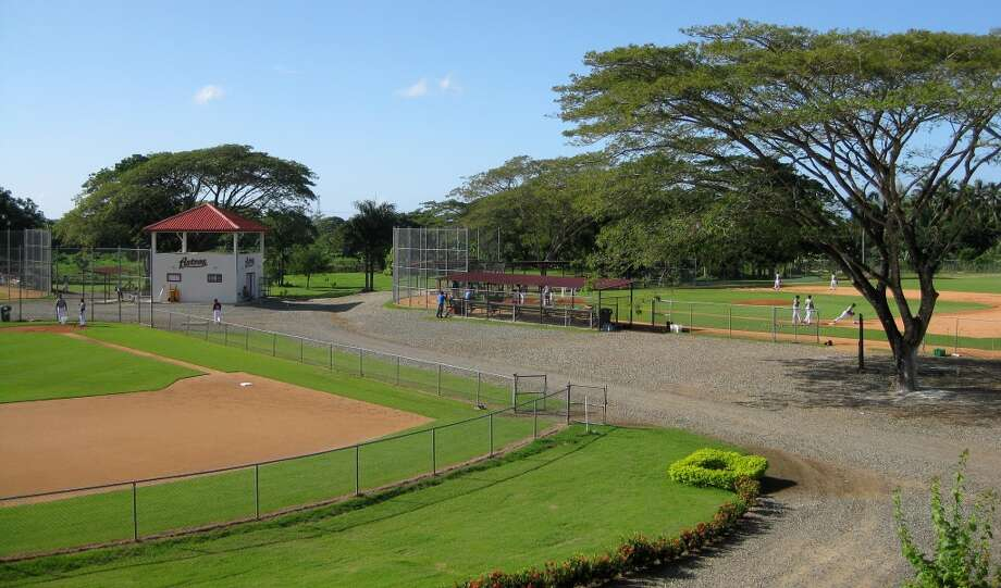 Houston's Dominican Republic instructional academy in Guerra, Santo Domingo.  (Brian T. Smith/Houston Chronicle)