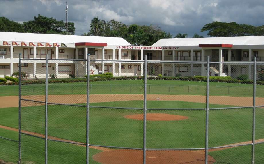 One of four baseball fields at the Astros' Dominican Republic instructional academy in Guerra, Santo Domingo.  (Brian T. Smith/Houston Chronicle)