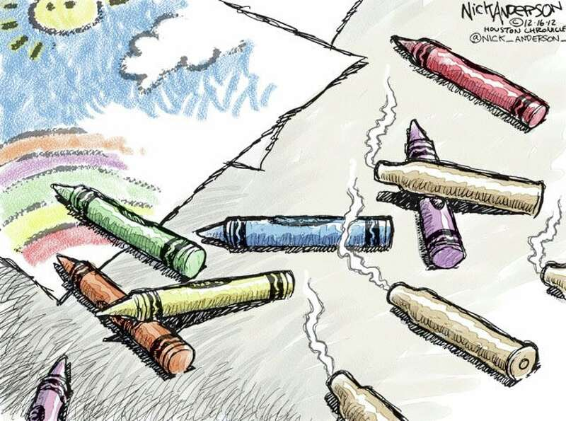 Innocence Lost (Nick Anderson / Houston Chronicle)