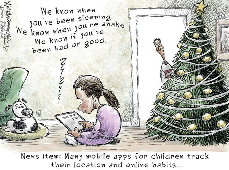 There's an app for that (Nick Anderson / Houston Chronicle)
