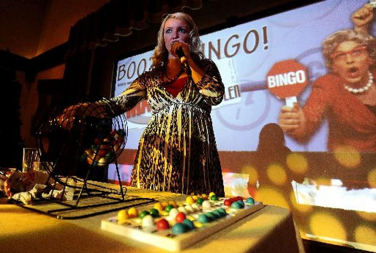Boozin' Bingo at Madison's, every Wednesday night at 9 p.m. Randy Edwards/cat5