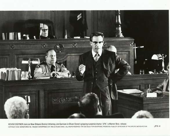 "Kevin Costner in ""JFK"": Worth a look - every six months, if you like. Photo: Warner Bros. 1991"