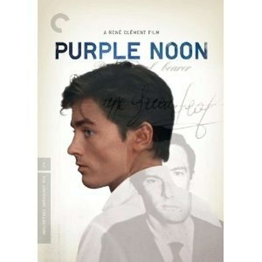 dvd cover PURPLE NOON Photo: Crieterion Collection, Amazon.com