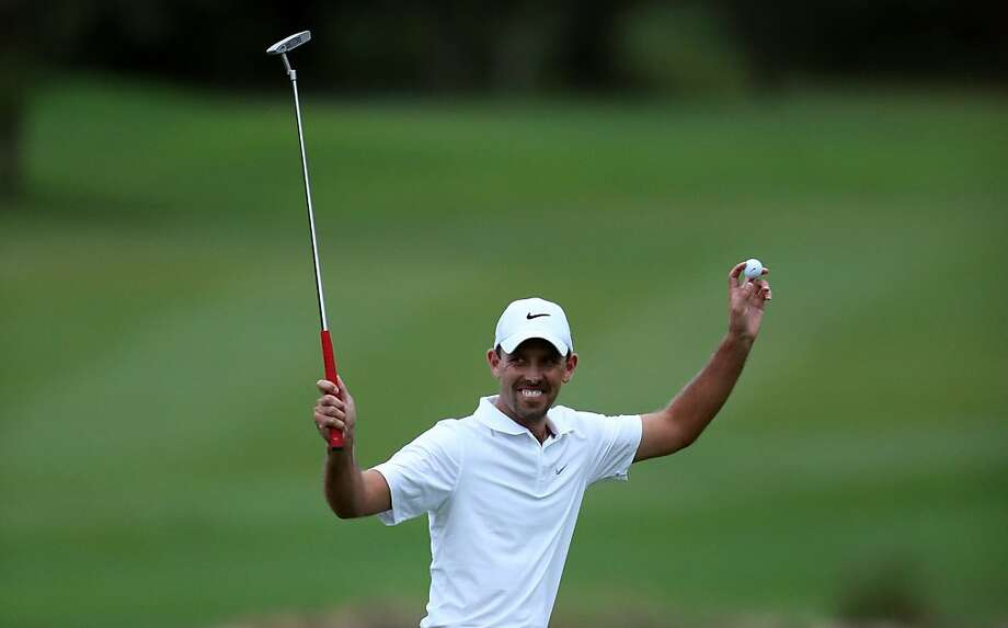 South Africa's Charl Schwartzel cruised to a 12-stroke victory at the Alfred Dunhill Championship. Photo: Warren Little, Getty Images
