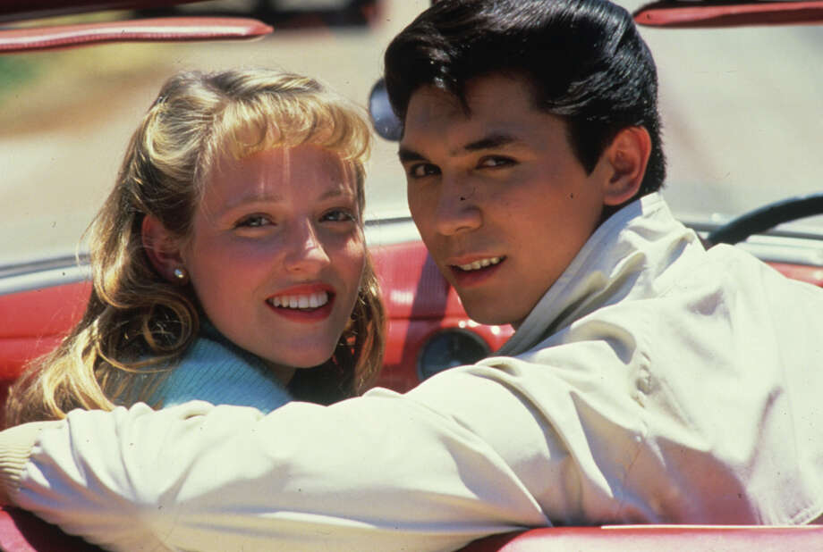 Lou Diamond Phillips and Danielle von Zerneck played young lovers Ritchie Valens and Donna Ludwig in 1987's 'La Bamba' Photo: COLUMBIA PICTURES