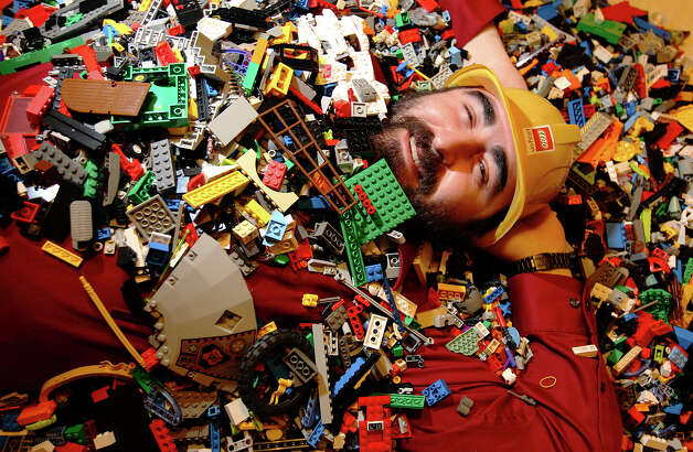 A portrait of Texas Lego Users Group: San Antonio chapter founder Chis MacDougald on Wednesday, Dec. 12, 2012. Photo: Kin Man Hui, San Antonio Express-News / ©2012 San Antonio Express-News