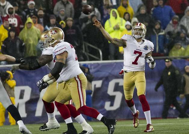 Out east, 49ers' Kaepernick is chill