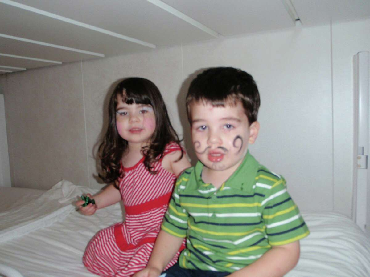 Noah Poner, 6, and his twin Arielle, left. Noah was killed in the Sandy Hook Elementary School shooting, his sister was in a different classroom and survived.
