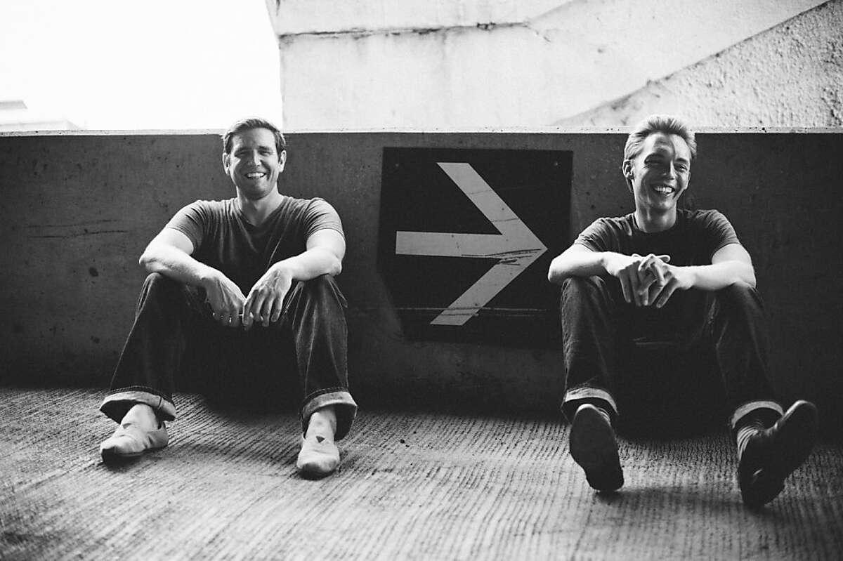 The Minimalists (from left): Ryan Nicodemus, Joshua Fields Millburn