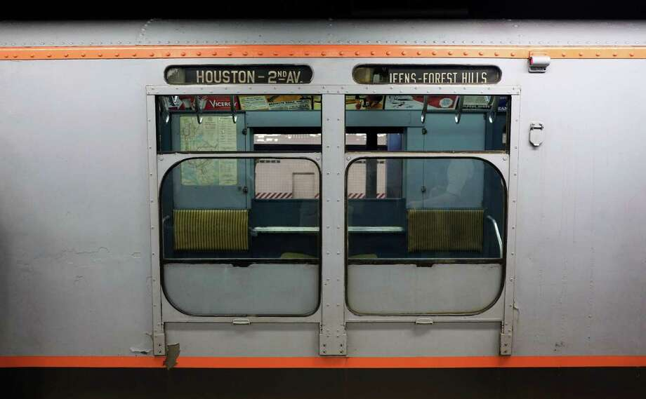 R110 subway car