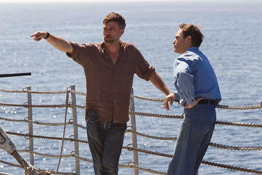 "Joaquin Phoenix stars in ""The Master,"" 2012's best actor and best film. Photo: Phil Bray, Weinstein Co."