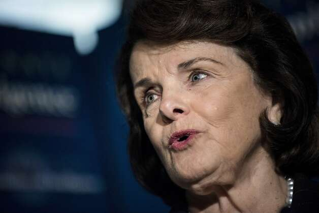 Dianne Feinstein Photo: Brendan Smialowski, AFP/Getty Images