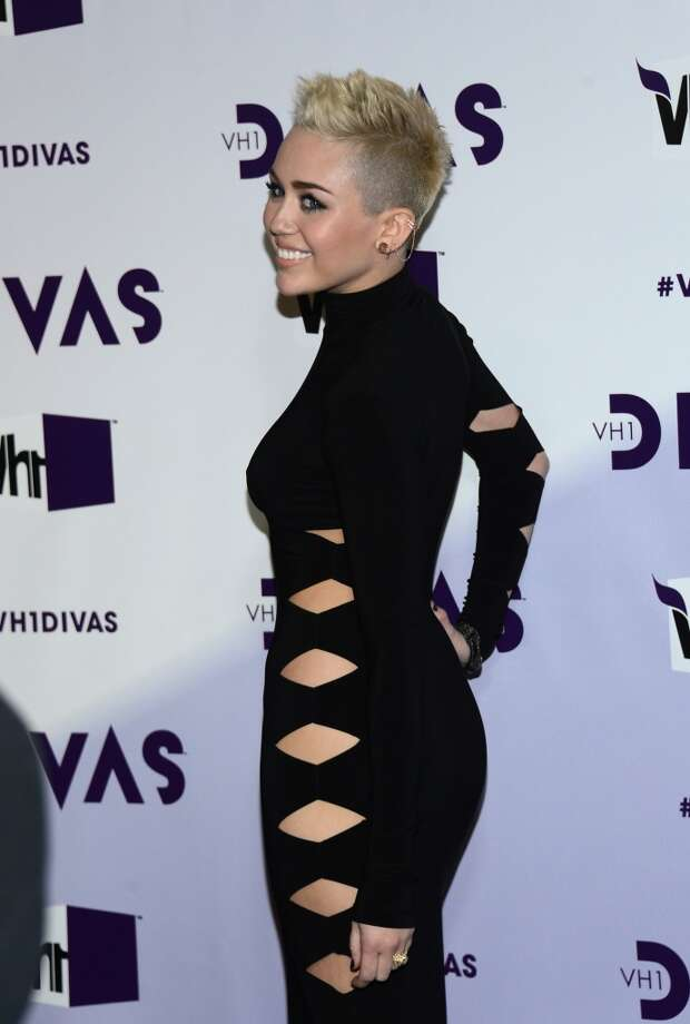 Singer Miley Cyrus attends VH1 Divas 2012 at The Shrine Auditorium on December 16, 2012 in Los Angeles, California.  (Photo by Michael Buckner/Getty Images) (Getty Images)