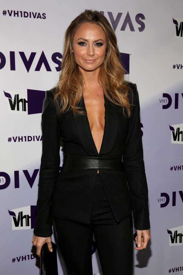 Actress Stacy Keibler attends VH1 Divas 2012 at The Shrine Auditorium on December 16, 2012 in Los Angeles, California.  (Photo by Christopher Polk/Getty Images) (Getty Images)