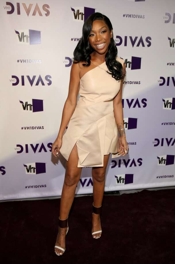 Singer Brandy attends VH1 Divas 2012 at The Shrine Auditorium on December 16, 2012 in Los Angeles, California.  (Photo by Christopher Polk/Getty Images) (Getty Images)