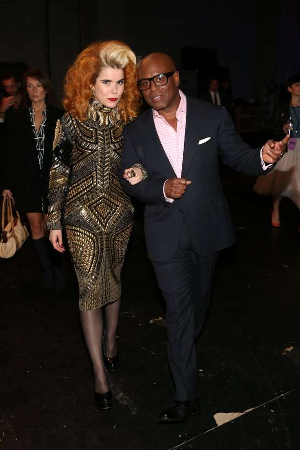 (L-R) Singer Paloma Faith and record executive Antonio L.A. Reid attend VH1 Divas 2012 at The Shrine Auditorium on December 16, 2012 in Los Angeles, California.  (Photo by Christopher Polk/Getty Images) (Getty Images)