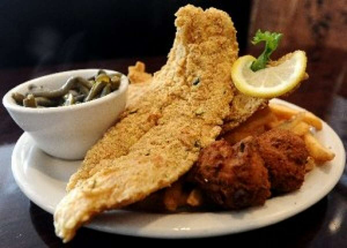 Many readers said their families serve fried fish fresh from the Gulf.