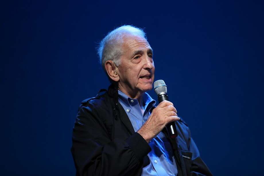 Freedom of the Press Foundation co-founder Daniel Ellsberg, who released the Pentagon Papers in 1971, says the new group will help fund whistle-blowers. Photo: Neilson Barnard, Getty Images