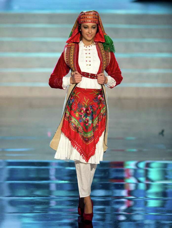 Miss Albania 2012, Adrola Dushi. Photo: Matt Brown, Miss Universe Organization / Miss Universe Organization