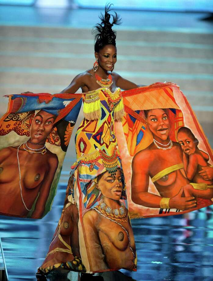 Miss Angola 2012, Marcelina Vahekeni. Photo: Matt Brown, Miss Universe Organization / Miss Universe Organization