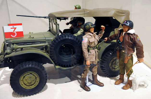 "U.S. Army General George Patton is depicted at a GI Joe ""Toys and Tanks: A Model Military"" exhibit at the NYS Military Museum Monday Dec. 17, 2012 in Saratoga Springs, N.Y. (Lori Van Buren / Times Union) Photo: Lori Van Buren"