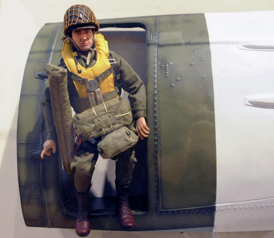 "Detail at a GI Joe ""Toys and Tanks: A Model Military"" exhibit at the NYS Military Museum Monday Dec. 17, 2012 in Saratoga Springs, N.Y. (Lori Van Buren / Times Union) Photo: Lori Van Buren"