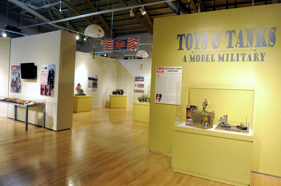 """Toys and Tanks: A Model Military"" exhibit with GI Joe dolls at the NYS Military Museum Monday Dec. 17, 2012 in Saratoga Springs, N.Y. (Lori Van Buren / Times Union) Photo: Lori Van Buren"