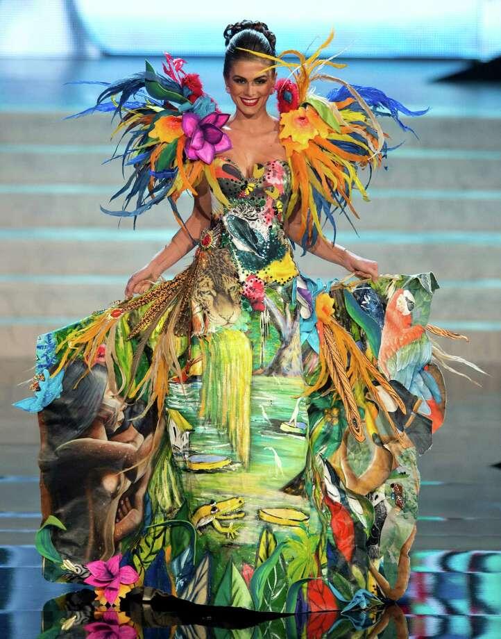 Miss Brazil 2012, Gabriela Markus. Photo: Matt Brown, Miss Universe Organization / Miss Universe Organization