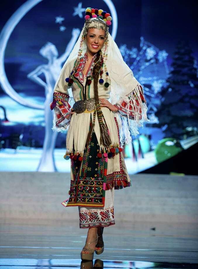 Miss Bulgaria 2012, Zhana Yaneva. Photo: Darren Decker, Miss Universe Organization / Miss Universe Organization