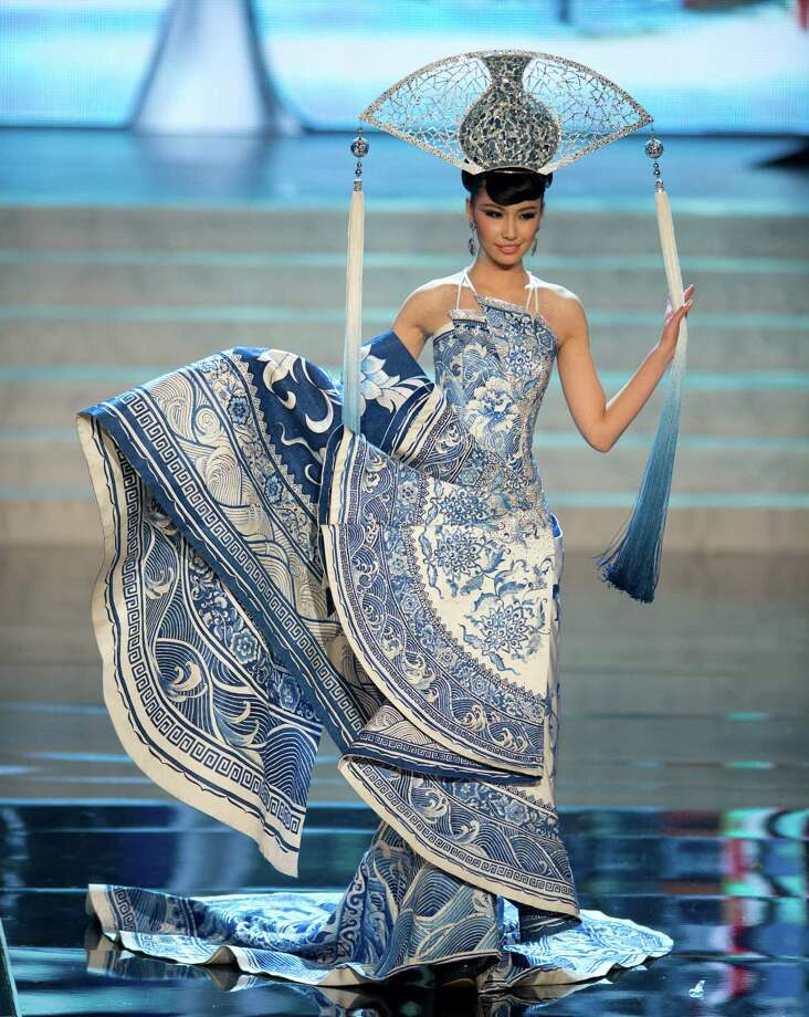 Miss China 2012, Ji Dan Xu. Photo: Matt Brown, Miss Universe Organization / Miss Universe Organization