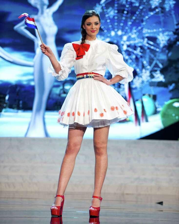 Miss Croatia 2012, Elizabeta Burg. Photo: Darren Decker, Miss Universe Organization / Miss Universe Organization