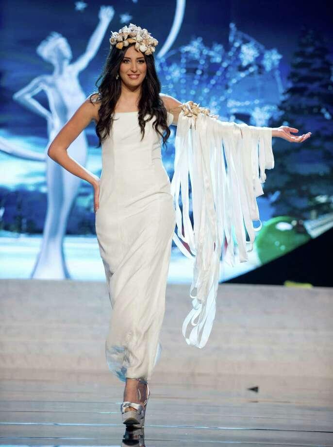 Miss Cyprus 2012, Ioanna Yiannakou. Photo: Darren Decker, Miss Universe Organization / Miss Universe Organization