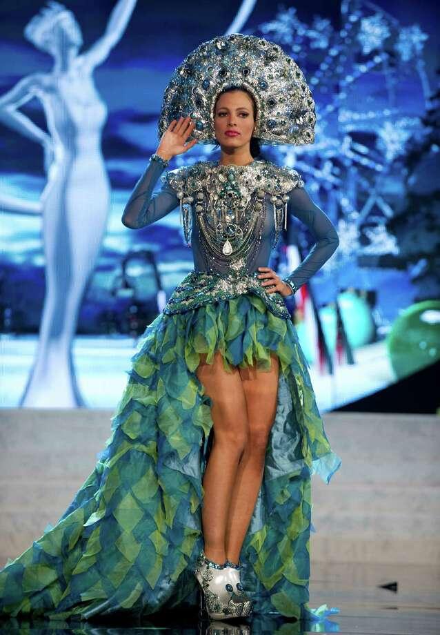 Miss Dominican Republic 2012, Dulcita Lieggi. Photo: Darren Decker, Miss Universe Organization / Miss Universe Organization
