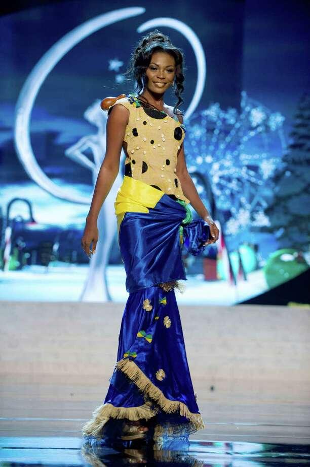Miss Gabon 2012, Channa Divouvi. Photo: Darren Decker, Miss Universe Organization / Miss Universe Organization