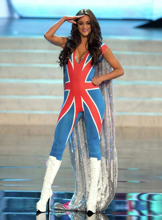 Miss Great Britain 2012, Holly Hale. Photo: Matt Brown, Miss Universe Organization / Miss Universe Organization