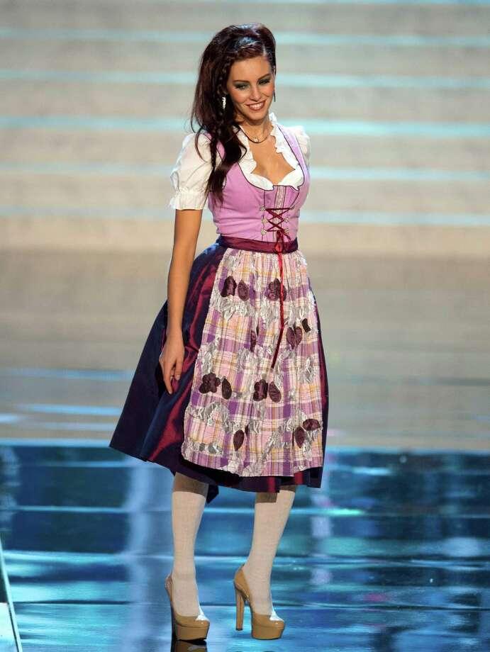 Miss Germany 2012, Alicia Endemann. Photo: Matt Brown, Miss Universe Organization / Miss Universe Organization