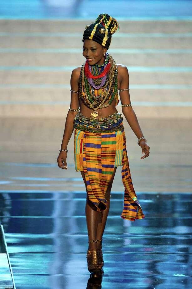 Miss Ghana 2012, Gifty Ofori. Photo: Matt Brown, Miss Universe Organization / Miss Universe Organization