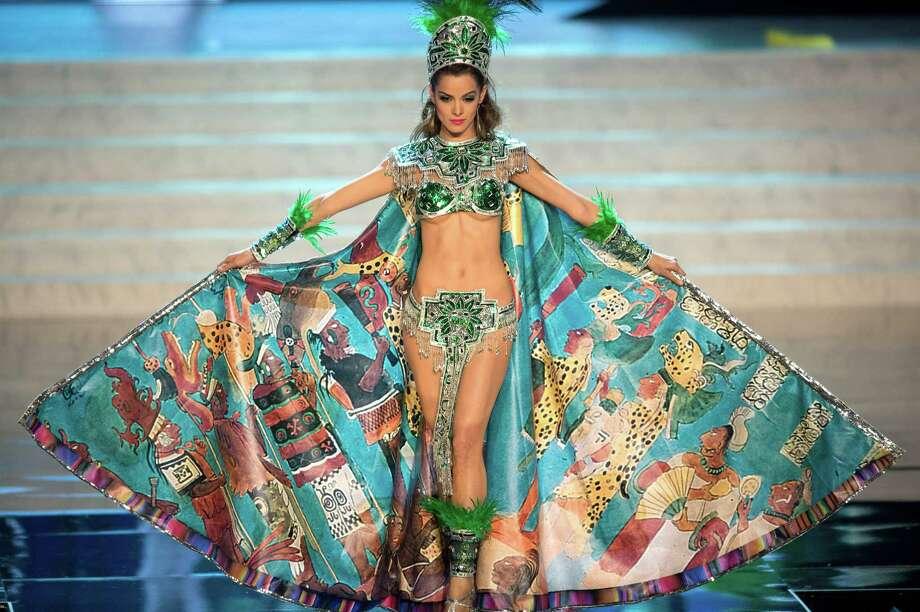 Miss Guatemala 2012, Laura Godoy. Photo: Matt Brown, Miss Universe Organization / Miss Universe Organization